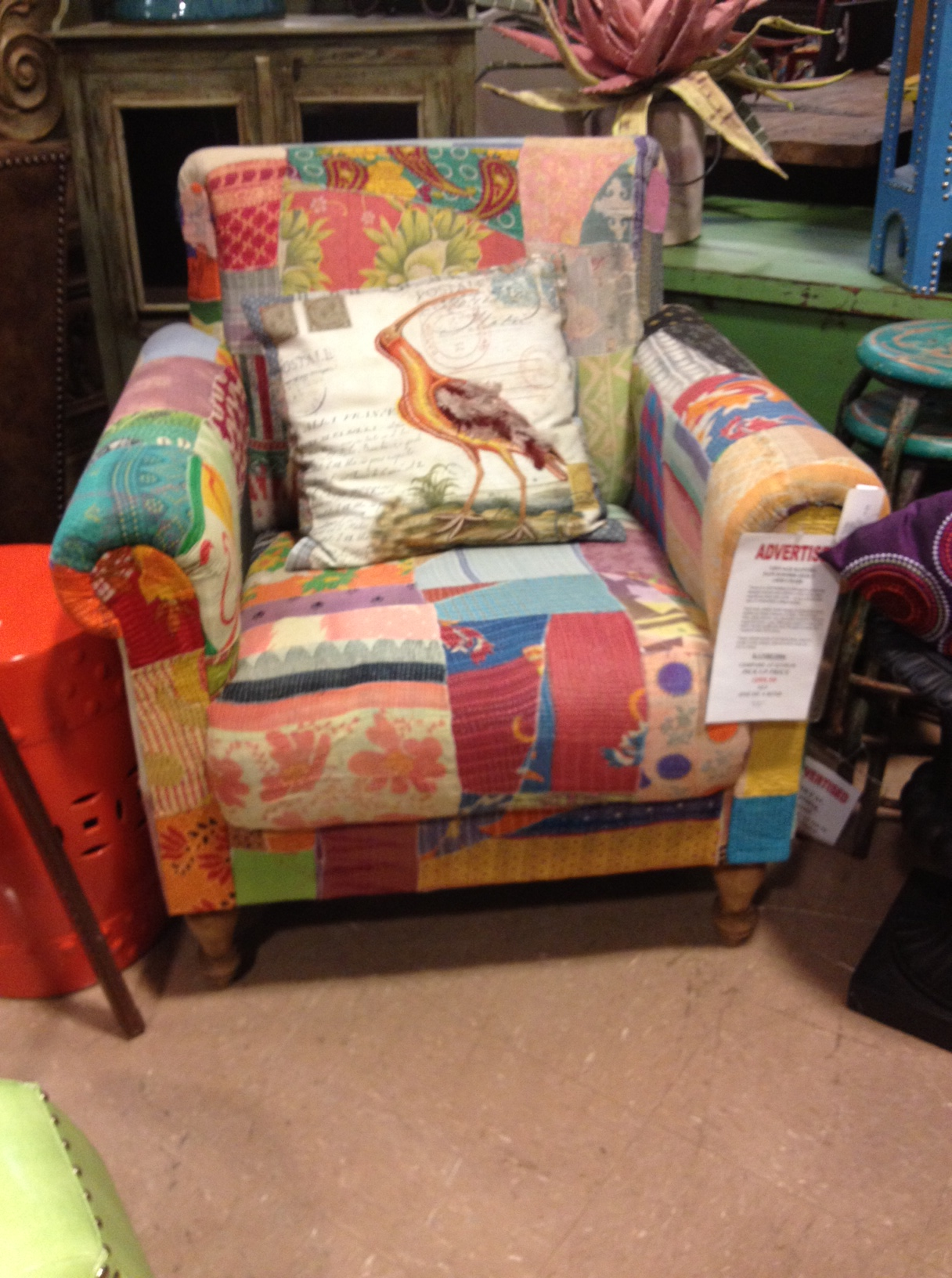 Kantha Chair Woodstock Furniture Outlet