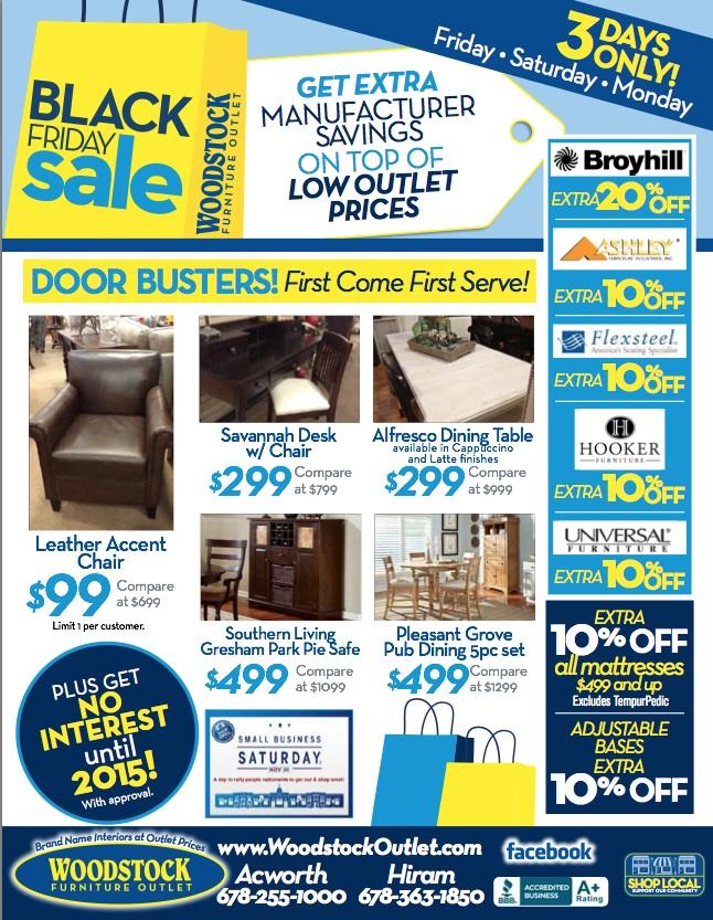 *Black Friday Sale* | Woodstock Furniture Outlet