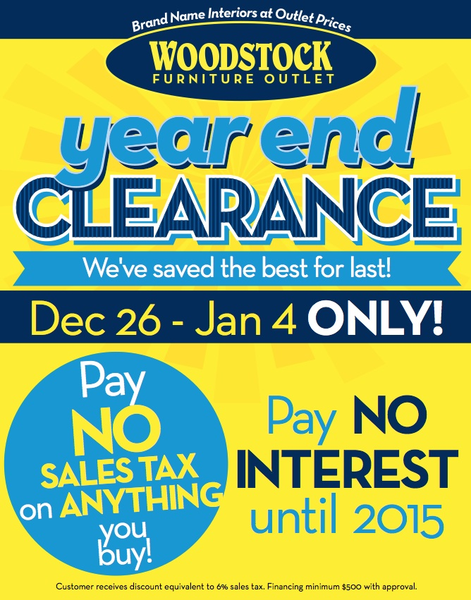 Year End NO Sales Tax!